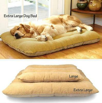 Pets Dog Comfortable Nest Sleep Bed Soft Cushion Mat Pad Kennel House 2 size Z