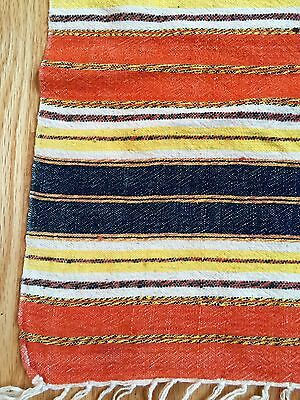 Antique Southwest? Mexican?  Italian?  Woven Throw/table Runner