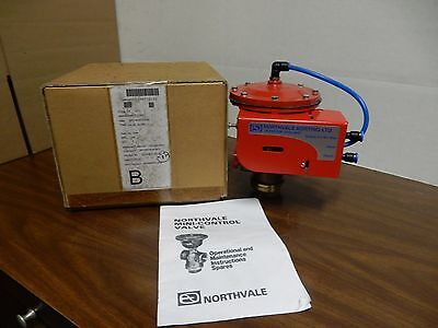 Northvale Korting Ltd. Mini Control Valve 74Ak Globe Valve 4820-99-873-2230 New