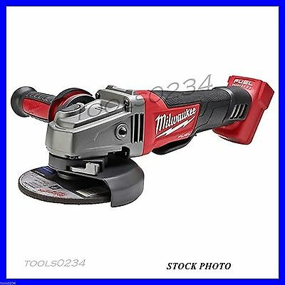 """Milwaukee 2780-20 M18 FUEL 4-1/2 - 5"""" Grinder, Paddle Switch (Bare Tool)"""