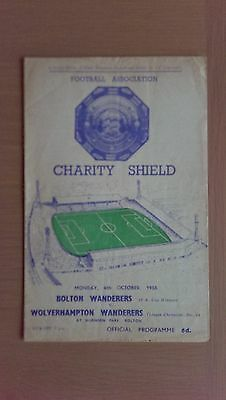 Bolton Wanderers V Wolverhampton Wanderers 1958-59