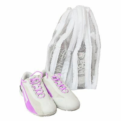 Metaltex Trainer/sports Shoe Laundry/wash Net Bag Mesh Clothes Sneaker Washing
