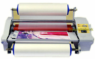 Updated 2015 digital Four Rollers Hot and cold roll laminating machine for 35cm