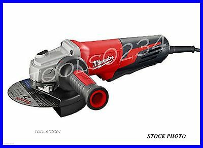 """New Milwaukee 6161-30 13 Amp 6"""" Small Angle Grinder Paddle, Lock-On 9,000 rpm"""