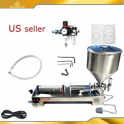 110V Paste Sampoo and Liquid  Filling Machine 50-500ml for Filling Free Shipping