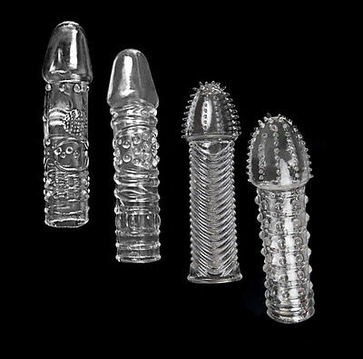 Silicone spike Condom Reusable Quality Type Permanent Bump Enhance