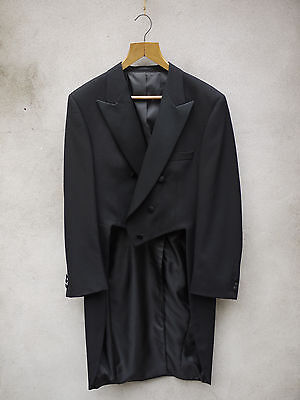 BLACK EVEING TAILCOAT 38-54in £225 by Tails & the Unexpected