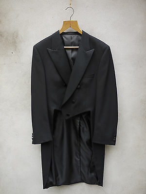 BLACK EVEING TAILCOAT 38-54in by Tails & the Unexpected