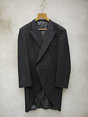 MORNING TAILCOAT in 100% Wool 38-54in Tails