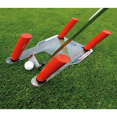 EyeLine Golf Speed Trap with Foam Power Rods Hit The Ball Longer & Straighter