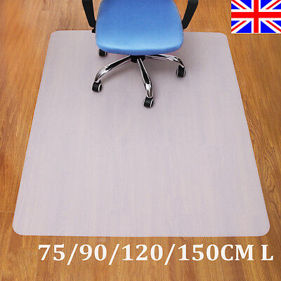 PP Hard Floor Protector Chair Mat Home Office Non Slip Chairmat Hot New UK