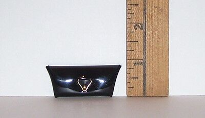 Mattel Repro Reproduction Barbie Doll Black Clutch Purse New From Box