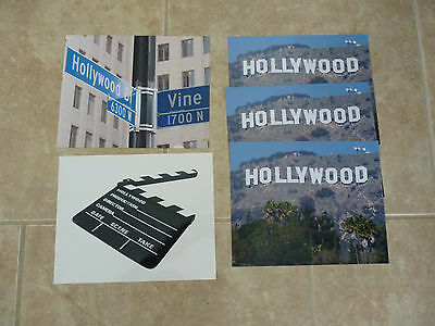 Hollywood Sign Stock Photo Autographs Autograph Celebrity 8x10 Color Picture