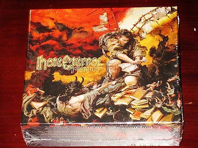 Hate Eternal: Infernus - Deluxe Collector's Limited Edition CD Box Set 2015 NEW