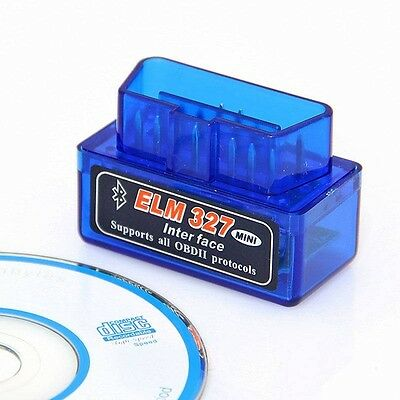 Mini scanner escaner Bluetooth ELM327 OBDII diagnosis coche V1.5 multimarca new