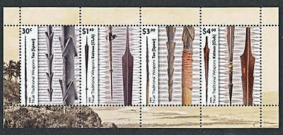 NIUE   2015   WEAPONS   SET of 4 on  MS   MNH