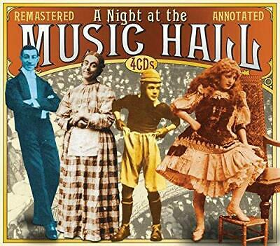 A Night At The Music Hall - Various Artists (NEW 4 x CD)