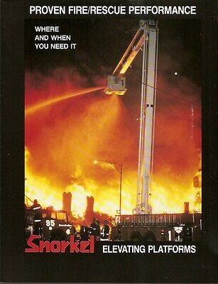 Fire Equipment Brochure - Snorkel - Monroe Charter Township Lexington (DB14)