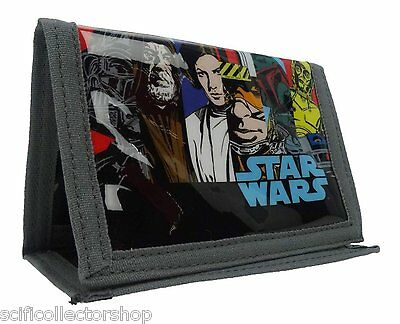 Star Wars Money Wallet - Official Classic Retro Comic Design - Great Value!