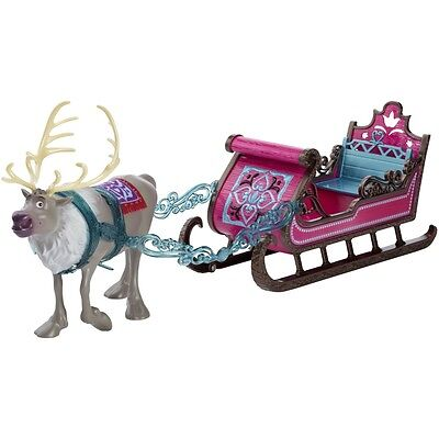 Disney Frozen Royal Sled with Sven for Anna and Elsa ~NEW & Unopened~