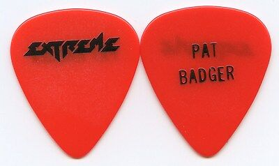 EXTREME 1995 Punchline Tour Guitar Pick!!! PAT BADGER custom concert stage Pick