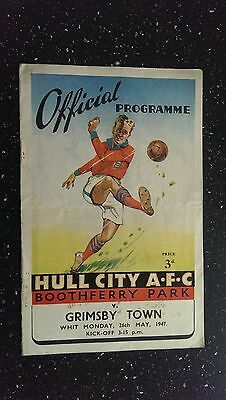 Hull City V Grimsby Town 1946-47