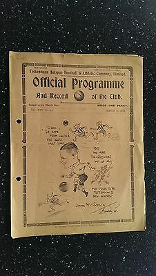 Tottenham Hotspur V Lincoln City 1932-33