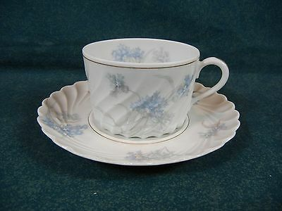 Haviland Limoges France Bergere Gold Verge Cup and Saucer Set(s)