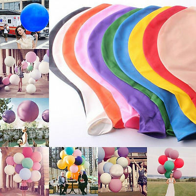 36 Inch 90cm Large Big Giant Helium Latex Balloons Wedding Birthday Party Decor