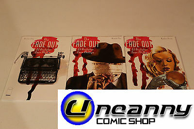Fade Out 1 2 3 Complete Comic Lot Run Set Collection NM