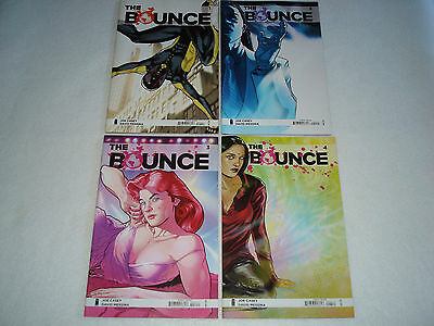 The Bounce 1 2 3 4 Complete Comic Lot Run Set Image Collection casey 1st Print Z