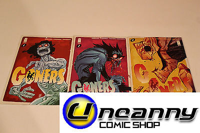 Goners 1 2 3 Complete Comic Lot Run Set Collection NM