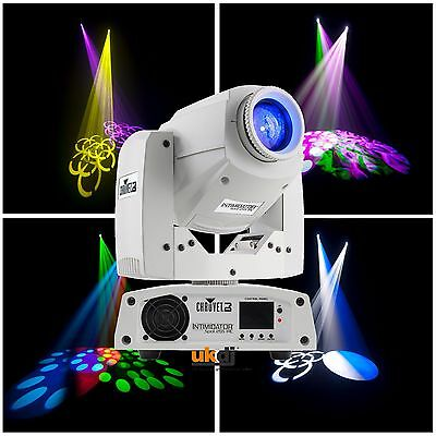 Chauvet Intim Spot 255 IRC White 3 Facet Prism 60w LED Moving Head Wedding DJ