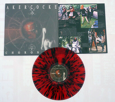 "Akercocke ""Choronzon"" Red / Black Splatter Vinyl - NEW Limited to 500 Copies!"