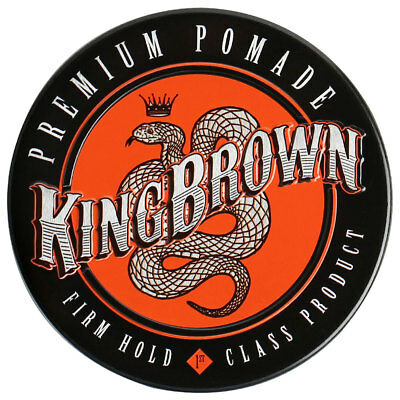 King Brown Premium Medium - Firm Hold Hair Pomade Mens Made in AUS *QUICK POST*