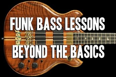 Funk & Slap Bass Guitar Lessons Beyond The Basics DVD. Be Stage Ready With This!