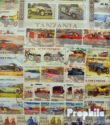 Motives 300 different Car and motor vehicles Stamps