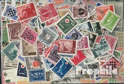 Croatia 100 different stamps  until 1945