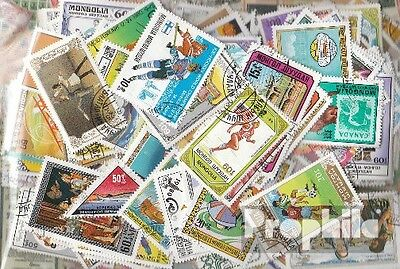Mongolia 300 different stamps