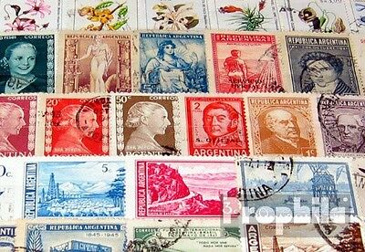 Argentina 250 different stamps