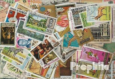 Burundi 100 different stamps