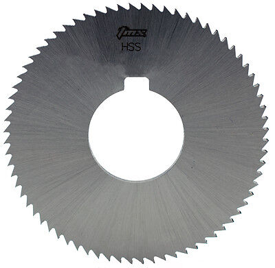 "1/32"" Thick x 3"" Diameter x 1"" Arbor Hole 30 Teeth HSS Plain Slitting Saw"