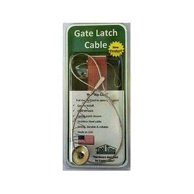 Tool Time Gate Latch Cable Pull New
