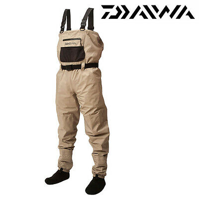 Daiwa Lightweight Breathable Chest Waders Choose Size