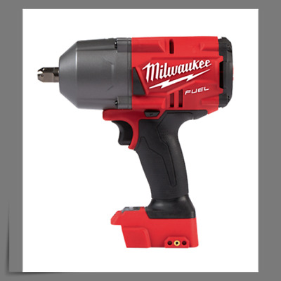 "Milwaukee 2762-20 M18 Cordless 1/2"" High-Torque Impact Wrench w/Pin, Bare Tool"