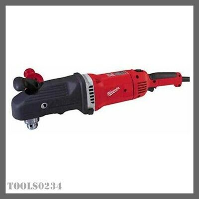 "New Milwaukee 1680-20 Super-Hawg Drill 1/2"" 13 Amp 90 degree Roto-Lok handle"