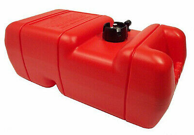 22 Litre ✱ OUTBOARD FUEL TANK with GAUGE ✱ Boat Marine Petrol Portable 22 LT NEW