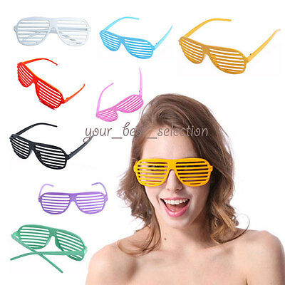 New Sunglasses Shutter Stronger Shades Glasses Retro Club Party Rave Hip Cool