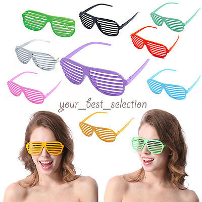New Retro Club Party Rave Hip Sunglasses Shutter Stronger Shades Glasses