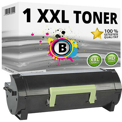 1 XL TONER für LEXMARK MS310d MS310dn MS312dn MS410d MS410dn MS415dn MS510dn